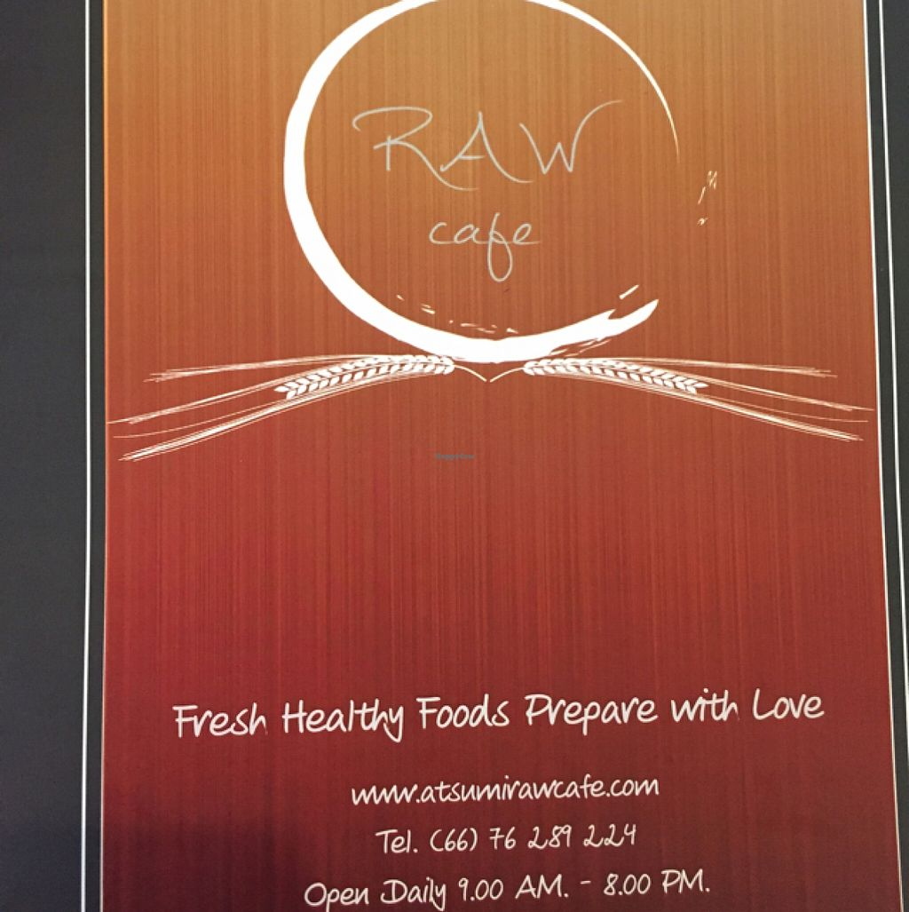 """Photo of Atsumi Raw Cafe  by <a href=""""/members/profile/fcfon"""">fcfon</a> <br/>New menu <br/> October 13, 2015  - <a href='/contact/abuse/image/36812/121196'>Report</a>"""