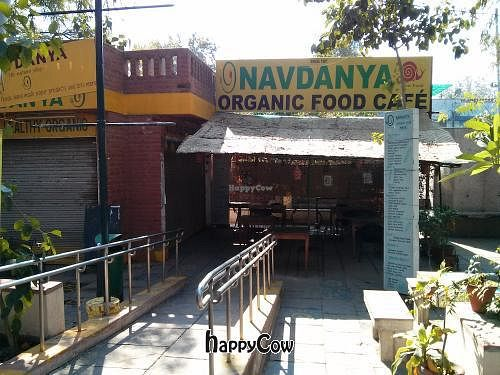 """Photo of Navdanya Organic Food Cafe and Shop  by <a href=""""/members/profile/earthville"""">earthville</a> <br/>Navdanya Organic Slow Food Café <br/> February 9, 2013  - <a href='/contact/abuse/image/36839/44015'>Report</a>"""