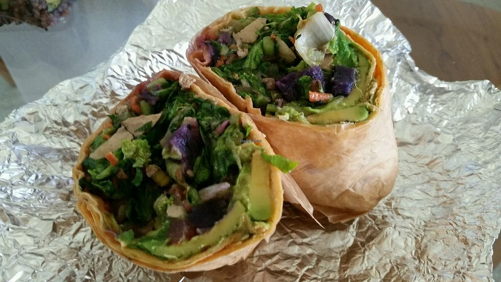 """Photo of Bamboo Fresh  by <a href=""""/members/profile/eric"""">eric</a> <br/>tofu wrap <br/> August 5, 2017  - <a href='/contact/abuse/image/36864/288895'>Report</a>"""