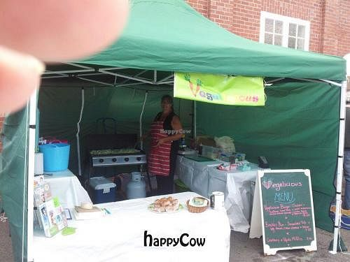 """Photo of Vegelicious  by <a href=""""/members/profile/AdrianaBellemans"""">AdrianaBellemans</a> <br/>Cooking up onions at our first stall at the Kingston Beach Market on 10th Feb.  <br/> February 13, 2013  - <a href='/contact/abuse/image/36882/44177'>Report</a>"""