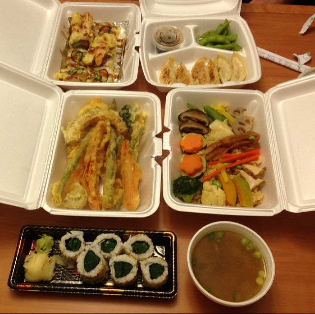 "Photo of CLOSED: Saina Japanese Vegetarian Cuisine  by <a href=""/members/profile/Lanahexapod"">Lanahexapod</a> <br/>feast <br/> June 7, 2014  - <a href='/contact/abuse/image/36905/71589'>Report</a>"