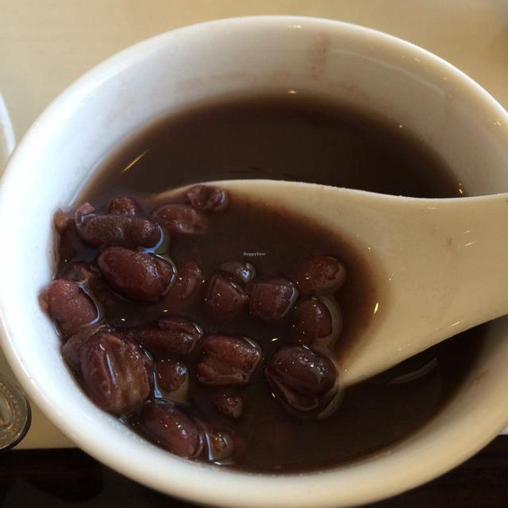 """Photo of Bodhi Veggie Cuisine  by <a href=""""/members/profile/HappyVeggieDude"""">HappyVeggieDude</a> <br/>lightly sweet bean soup dessert <br/> September 12, 2014  - <a href='/contact/abuse/image/36911/79730'>Report</a>"""
