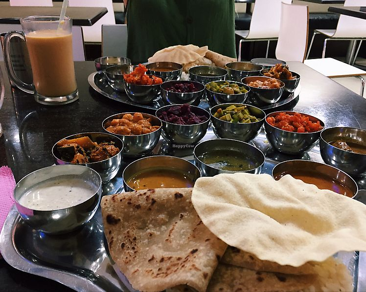 """Photo of Thali NR Sweets Cafe  by <a href=""""/members/profile/gmconway"""">gmconway</a> <br/>soo tasty and filling - thali <br/> June 14, 2017  - <a href='/contact/abuse/image/36947/268885'>Report</a>"""