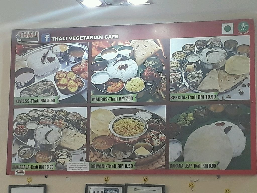 """Photo of Thali NR Sweets Cafe  by <a href=""""/members/profile/LilacHippy"""">LilacHippy</a> <br/>Menu board <br/> October 28, 2017  - <a href='/contact/abuse/image/36947/319582'>Report</a>"""