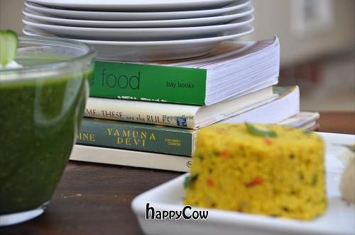 "Photo of Feast of Greens  by <a href=""/members/profile/FeastofGreens"">FeastofGreens</a> <br/>Spinach Coconut Dal and Cream of Wheat Polenta <br/> February 15, 2013  - <a href='/contact/abuse/image/36953/44224'>Report</a>"