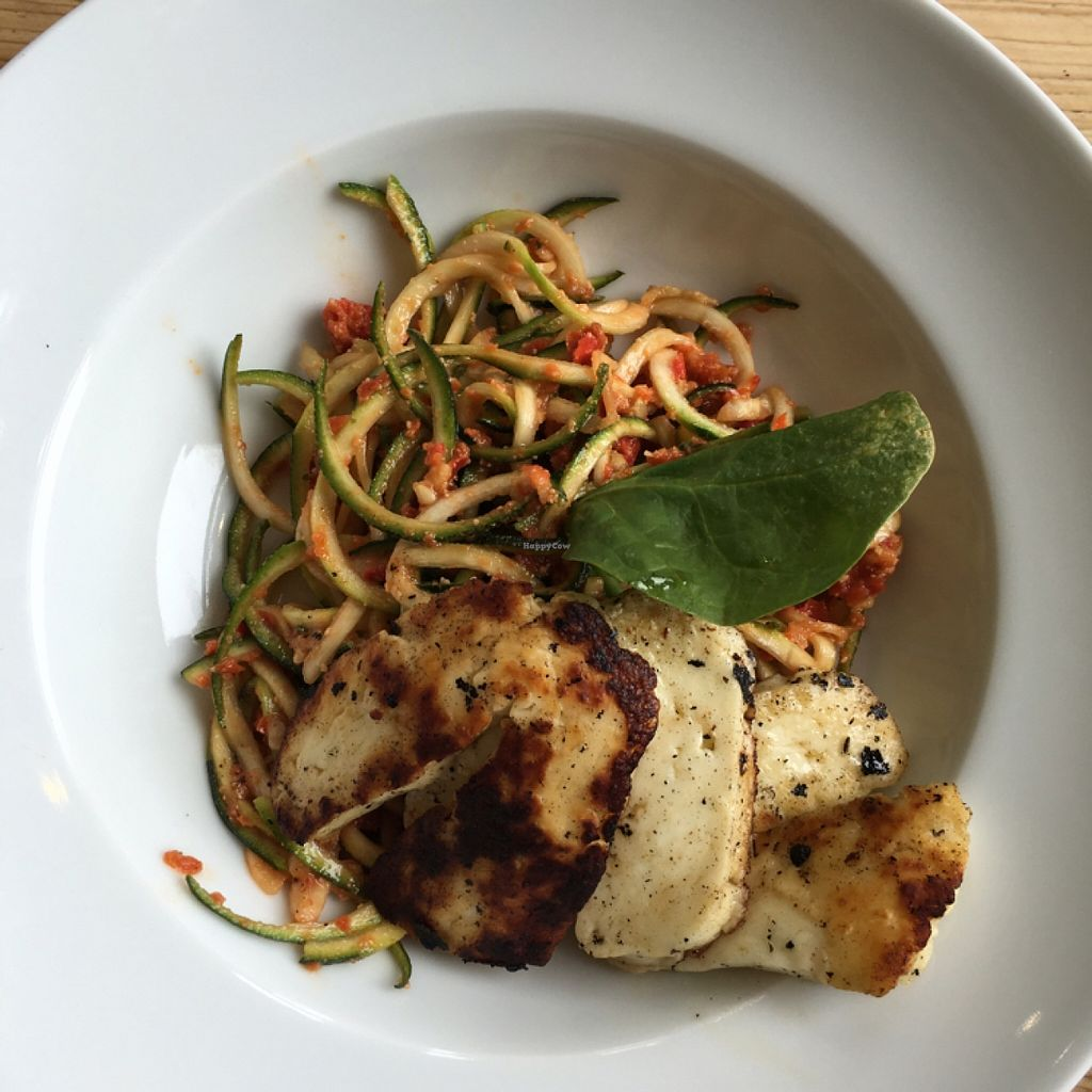 "Photo of The Green Rocket Cafe  by <a href=""/members/profile/manic-organic"">manic-organic</a> <br/>Spaghetti salad with halloumi  <br/> May 19, 2016  - <a href='/contact/abuse/image/36987/149811'>Report</a>"