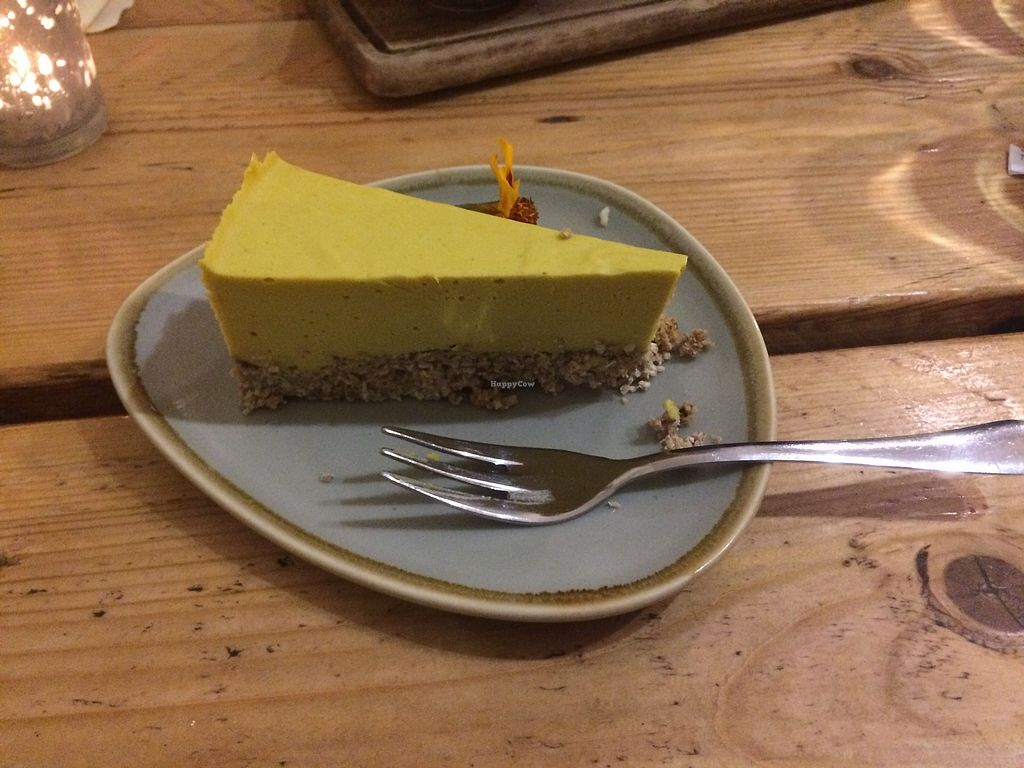 "Photo of The Green Rocket Cafe  by <a href=""/members/profile/LowriH%C3%A2f"">LowriHâf</a> <br/>Mango 'Cheese'cake <br/> February 27, 2018  - <a href='/contact/abuse/image/36987/364483'>Report</a>"