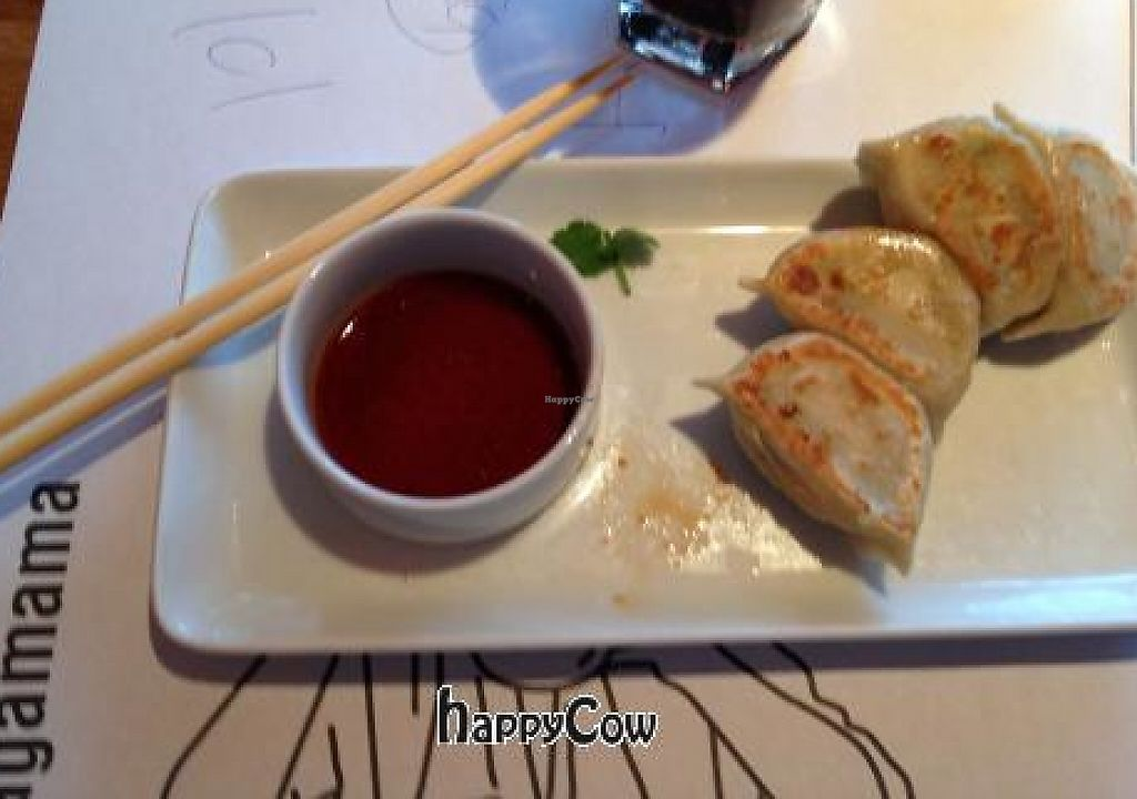 "Photo of Wagamama   by <a href=""/members/profile/gavn8r"">gavn8r</a> <br/>Vegan dumplings <br/> March 1, 2013  - <a href='/contact/abuse/image/36989/246427'>Report</a>"