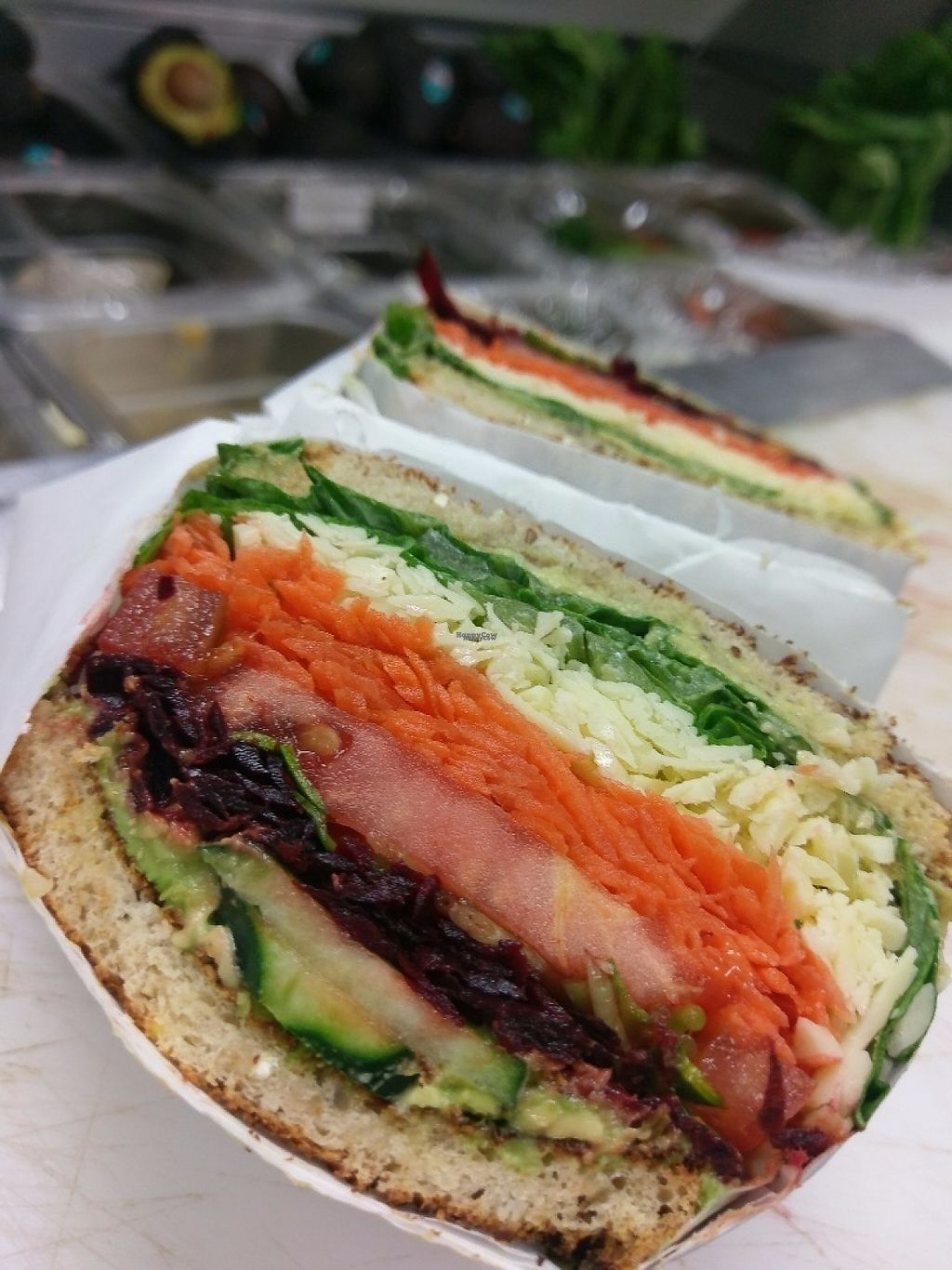 """Photo of Nutrition Shoppe Juice and Sandwich Bar  by <a href=""""/members/profile/Ricks"""">Ricks</a> <br/>Veggie sandwich <br/> April 9, 2017  - <a href='/contact/abuse/image/37007/246265'>Report</a>"""
