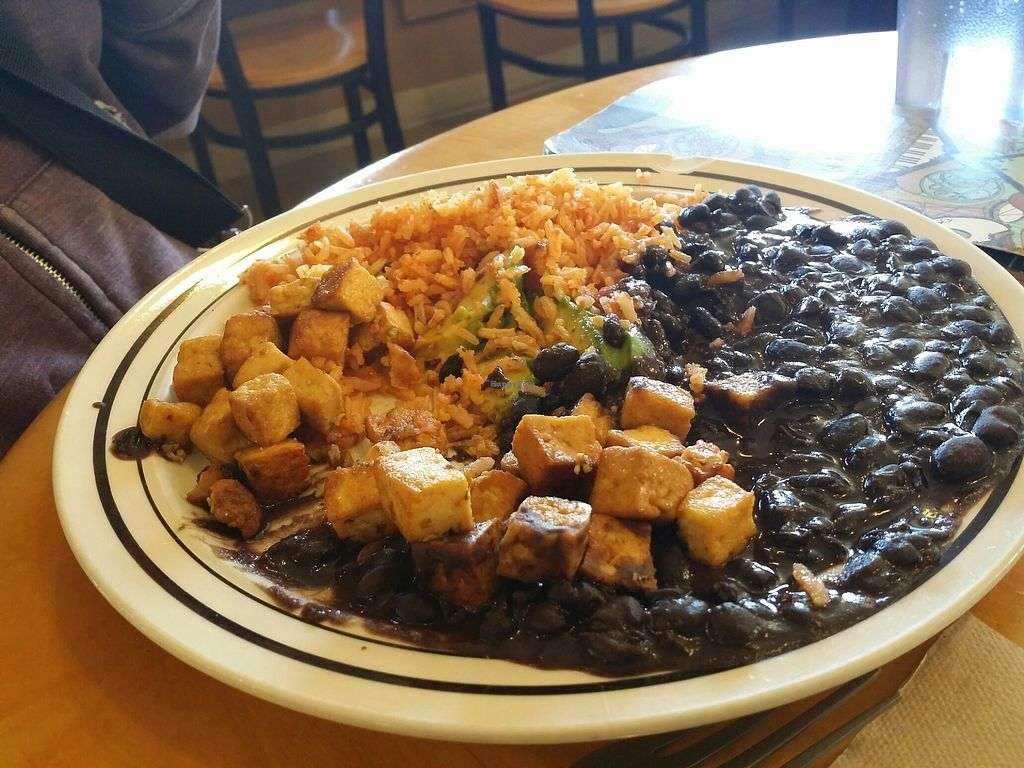 "Photo of GoodLife Cafe and Bakery  by <a href=""/members/profile/purplesnowcone"">purplesnowcone</a> <br/>black bean rice and tofu <br/> July 24, 2017  - <a href='/contact/abuse/image/37010/284492'>Report</a>"