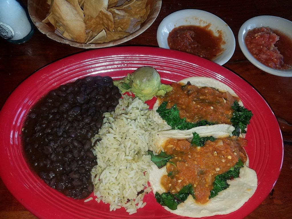 """Photo of El Monumento  by <a href=""""/members/profile/KenBryan"""">KenBryan</a> <br/>veggie Tacos <br/> February 2, 2018  - <a href='/contact/abuse/image/37070/354141'>Report</a>"""