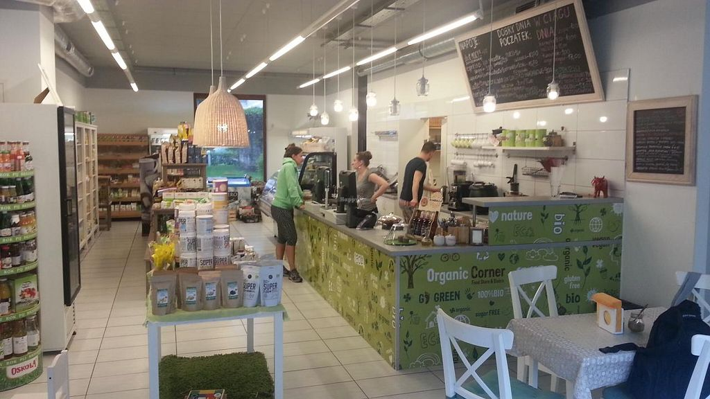"""Photo of Organic Corner Food Store and Bistro  by <a href=""""/members/profile/eric"""">eric</a> <br/>inside <br/> May 10, 2015  - <a href='/contact/abuse/image/37085/101799'>Report</a>"""