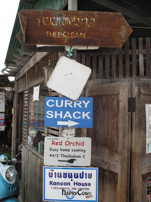 "Photo of Curry Shack  by <a href=""/members/profile/Whocindah"">Whocindah</a> <br/>Sign for Curry Shack on Walking Street at the top of Soi Thedsaban <br/> February 28, 2013  - <a href='/contact/abuse/image/37134/44852'>Report</a>"