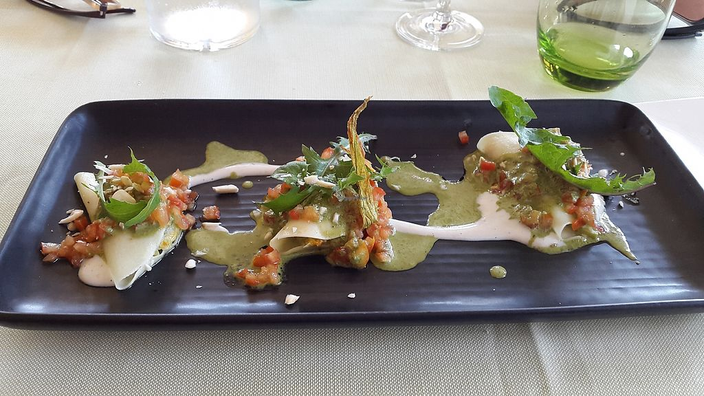 """Photo of GhEA  by <a href=""""/members/profile/Anirac"""">Anirac</a> <br/>Pumpkin flower ravioli <br/> July 17, 2017  - <a href='/contact/abuse/image/37136/281442'>Report</a>"""
