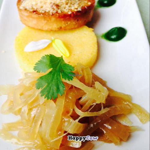 "Photo of GhEA  by <a href=""/members/profile/devu"">devu</a> <br/>Tofu with polenta and onions <br/> November 9, 2013  - <a href='/contact/abuse/image/37136/58208'>Report</a>"
