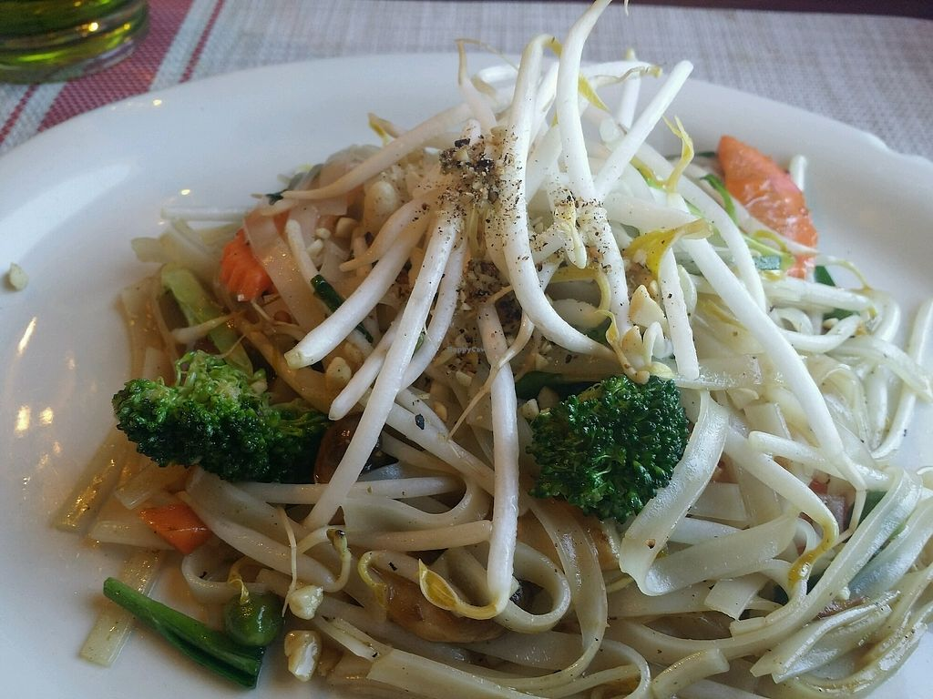 """Photo of Malee Thai  by <a href=""""/members/profile/purplesnowcone"""">purplesnowcone</a> <br/>pad thai <br/> March 6, 2018  - <a href='/contact/abuse/image/37144/367542'>Report</a>"""