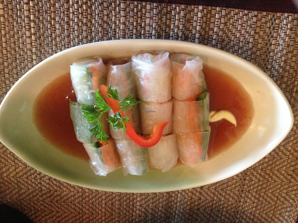 """Photo of Lemongrass  by <a href=""""/members/profile/vegan_ryan"""">vegan_ryan</a> <br/>Spring rolls <br/> October 14, 2015  - <a href='/contact/abuse/image/37172/121290'>Report</a>"""