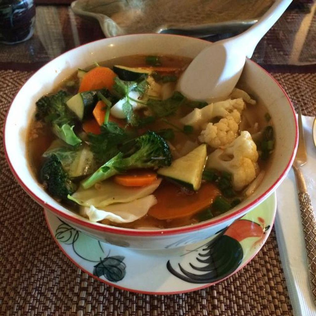 """Photo of Lemongrass  by <a href=""""/members/profile/ElizabethFrei"""">ElizabethFrei</a> <br/>vegetarian Thai noodle <br/> August 13, 2014  - <a href='/contact/abuse/image/37172/76857'>Report</a>"""