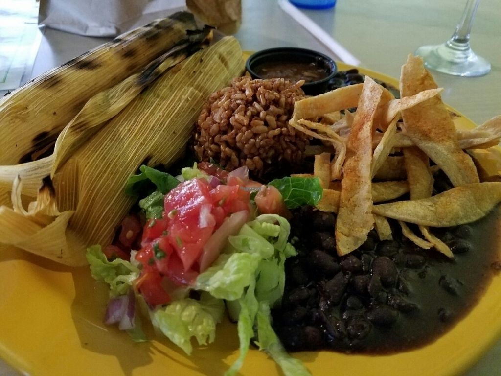 """Photo of Senor Veggie  by <a href=""""/members/profile/EverydayTastiness"""">EverydayTastiness</a> <br/>Cactus tamales <br/> November 2, 2016  - <a href='/contact/abuse/image/37190/186122'>Report</a>"""