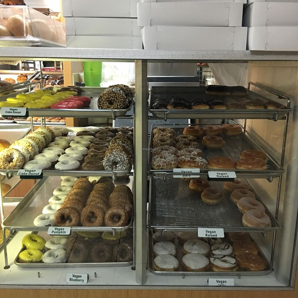 """Photo of The Donuttery  by <a href=""""/members/profile/xmrfigx"""">xmrfigx</a> <br/>Pretty good selection <br/> December 15, 2015  - <a href='/contact/abuse/image/37197/128640'>Report</a>"""