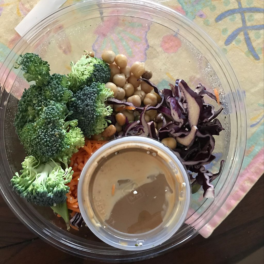 """Photo of Fuel Plus  by <a href=""""/members/profile/Aidantam"""">Aidantam</a> <br/>almond Thai protein bowl <br/> June 28, 2017  - <a href='/contact/abuse/image/37205/274542'>Report</a>"""