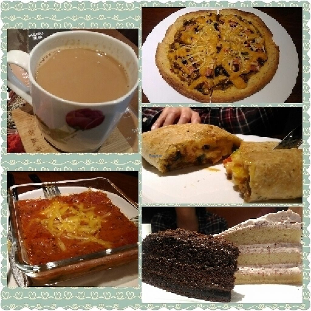 """Photo of Fresh Bakery & Cafe - Vegan Taipei  by <a href=""""/members/profile/KhooHuiTheng"""">KhooHuiTheng</a> <br/>amazing vegan food <br/> March 13, 2017  - <a href='/contact/abuse/image/37227/235959'>Report</a>"""