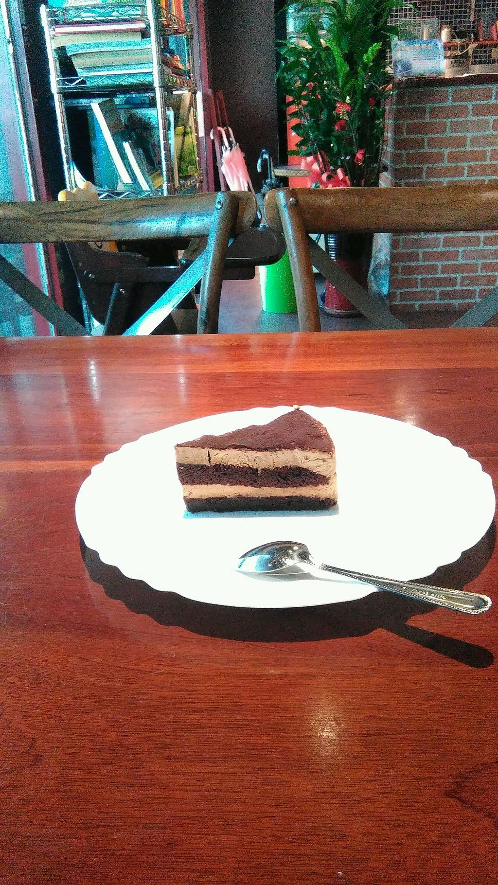 "Photo of Fresh Bakery & Cafe - Vegan Taipei  by <a href=""/members/profile/CarinaJ.Rother"">CarinaJ.Rother</a> <br/>vegan Tiramisu  <br/> January 16, 2018  - <a href='/contact/abuse/image/37227/347140'>Report</a>"