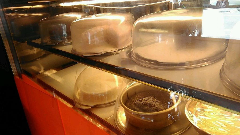 """Photo of Fresh Bakery & Cafe - Vegan Taipei  by <a href=""""/members/profile/CarinaJ.Rother"""">CarinaJ.Rother</a> <br/>daily vegan cake selection  <br/> January 16, 2018  - <a href='/contact/abuse/image/37227/347141'>Report</a>"""