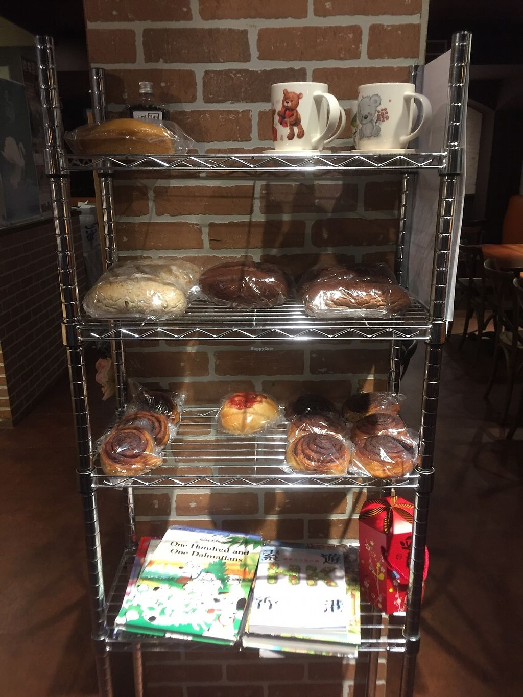 """Photo of Fresh Bakery & Cafe - Vegan Taipei  by <a href=""""/members/profile/Pons"""">Pons</a> <br/>Still some baked goods <br/> April 3, 2018  - <a href='/contact/abuse/image/37227/380197'>Report</a>"""