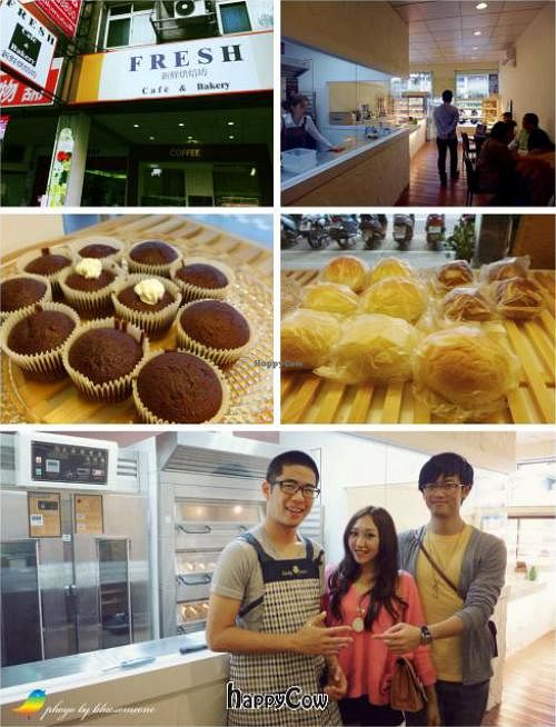 """Photo of Fresh Bakery & Cafe - Vegan Taipei  by <a href=""""/members/profile/cj%20the%20taniwha"""">cj the taniwha</a> <br/>Fresh Vegan Bakery Taipei <br/> March 1, 2013  - <a href='/contact/abuse/image/37227/44918'>Report</a>"""