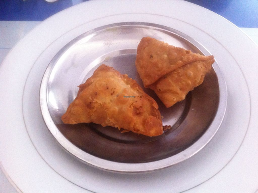 """Photo of Nisha Restaurant  by <a href=""""/members/profile/Arvid"""">Arvid</a> <br/>Vegetable samosa (10,000 kip) <br/> February 15, 2016  - <a href='/contact/abuse/image/37229/136509'>Report</a>"""