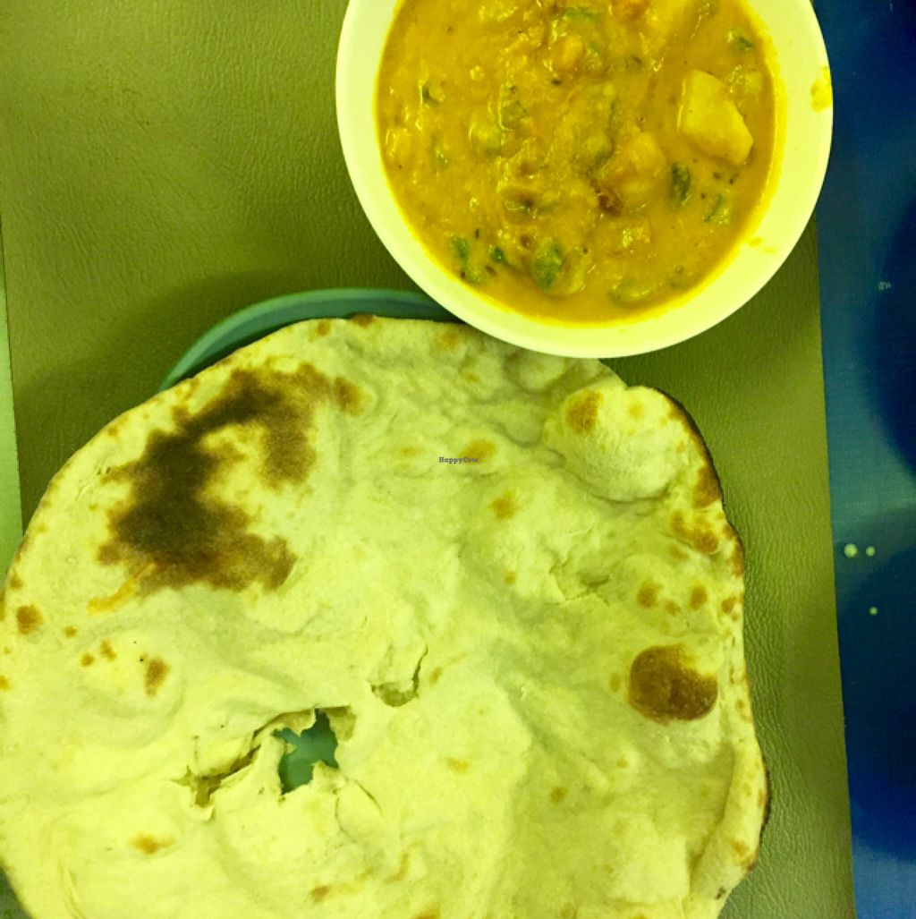 """Photo of Nisha Restaurant  by <a href=""""/members/profile/Gillsabroad"""">Gillsabroad</a> <br/>vegetable curry and naan bread. SPICY!  <br/> July 26, 2016  - <a href='/contact/abuse/image/37229/162399'>Report</a>"""