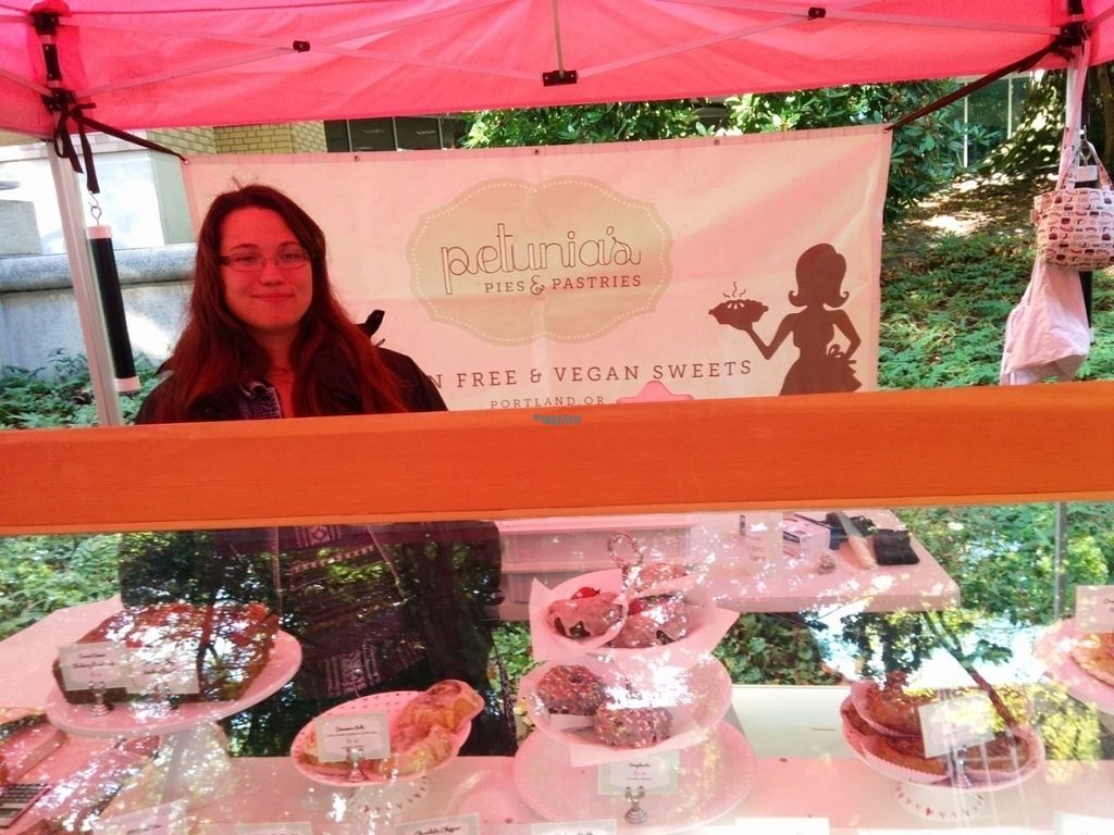 "Photo of Petunia's Pies and Pastries  by <a href=""/members/profile/MizzB"">MizzB</a> <br/>Petunias representing at Portlands Farmers Market. Thank you! <br/> October 1, 2016  - <a href='/contact/abuse/image/37248/179087'>Report</a>"