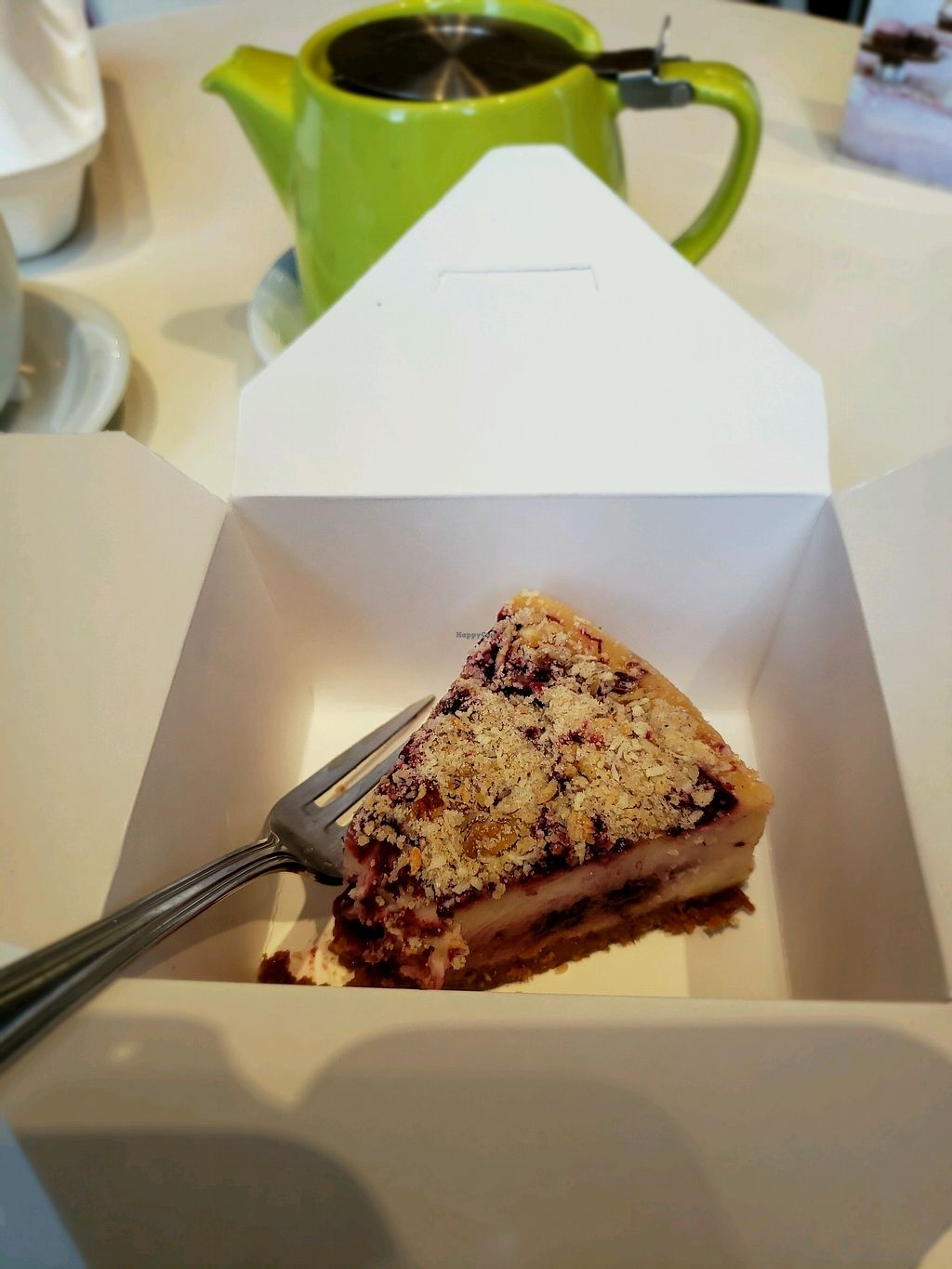 "Photo of Petunia's Pies and Pastries  by <a href=""/members/profile/MannaTea"">MannaTea</a> <br/>Marionberry Cheesecake <br/> April 5, 2018  - <a href='/contact/abuse/image/37248/381284'>Report</a>"