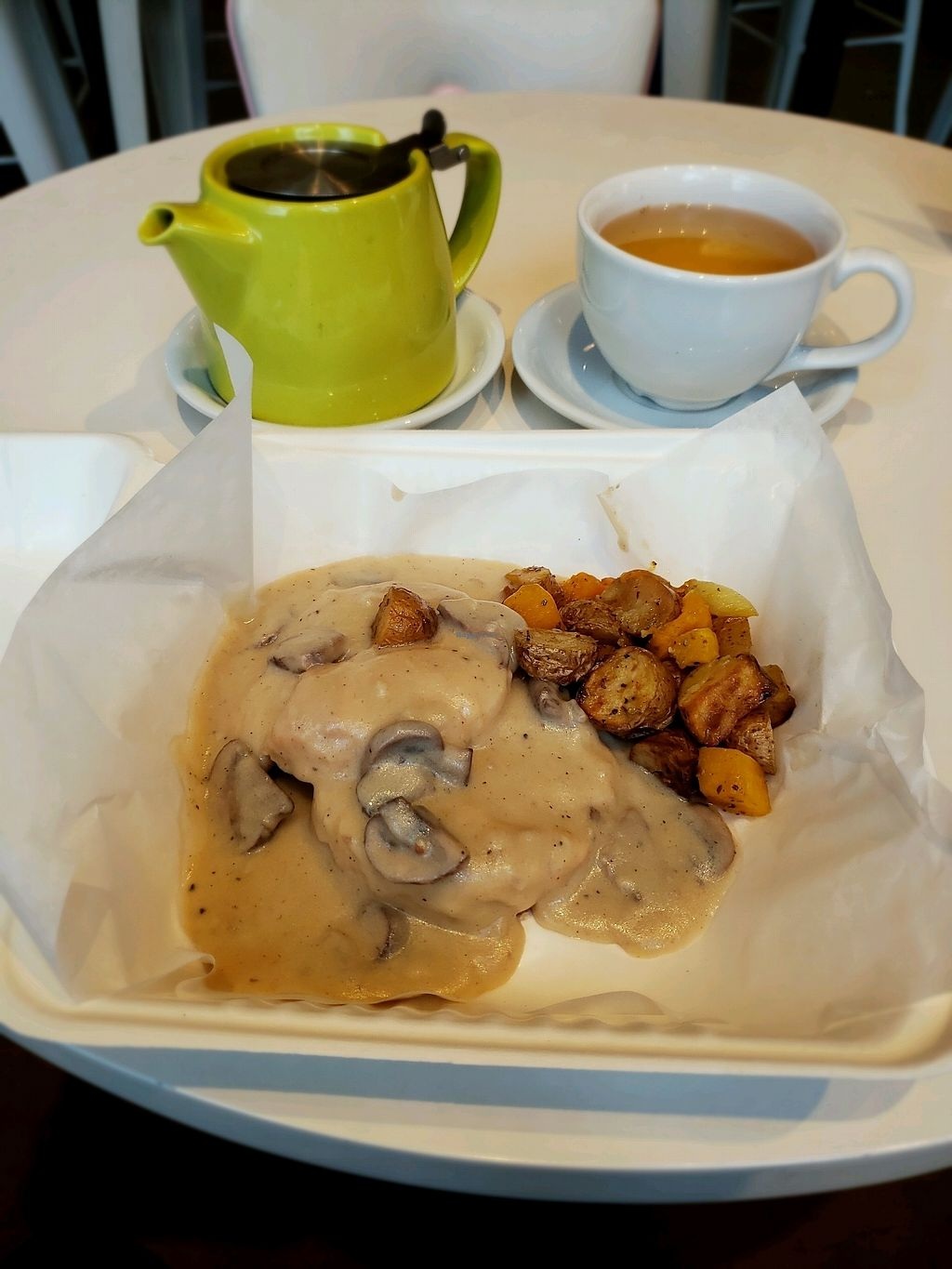 "Photo of Petunia's Pies and Pastries  by <a href=""/members/profile/MannaTea"">MannaTea</a> <br/>Biscuits & Gravy <br/> April 5, 2018  - <a href='/contact/abuse/image/37248/381285'>Report</a>"