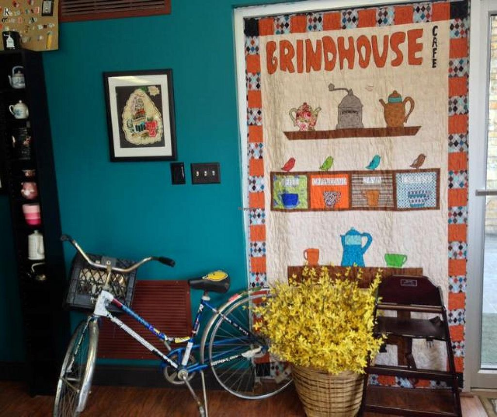 """Photo of Grindhouse Cafe  by <a href=""""/members/profile/happycowgirl"""">happycowgirl</a> <br/>inside <br/> March 29, 2014  - <a href='/contact/abuse/image/37268/66700'>Report</a>"""