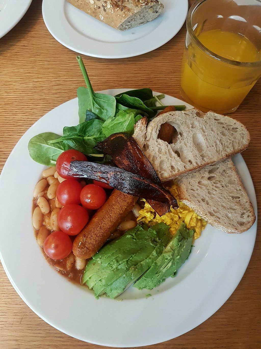 """Photo of Fruccola  by <a href=""""/members/profile/Woodkate"""">Woodkate</a> <br/>vegan breakfast @eatbynature <br/> April 17, 2018  - <a href='/contact/abuse/image/37276/387086'>Report</a>"""