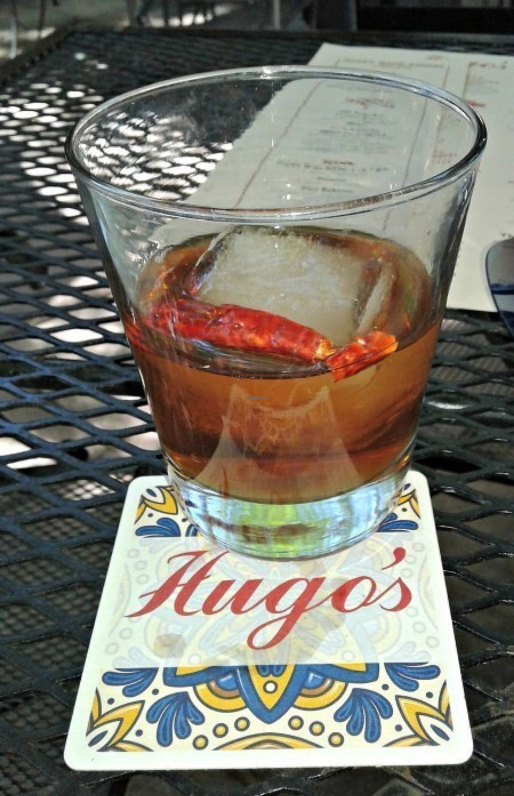 """Photo of Hugo's  by <a href=""""/members/profile/carnivoresandvegans"""">carnivoresandvegans</a> <br/>West Texas Walkabout Cocktail on Happy Hour - Get it!!! <br/> May 14, 2017  - <a href='/contact/abuse/image/37283/258662'>Report</a>"""