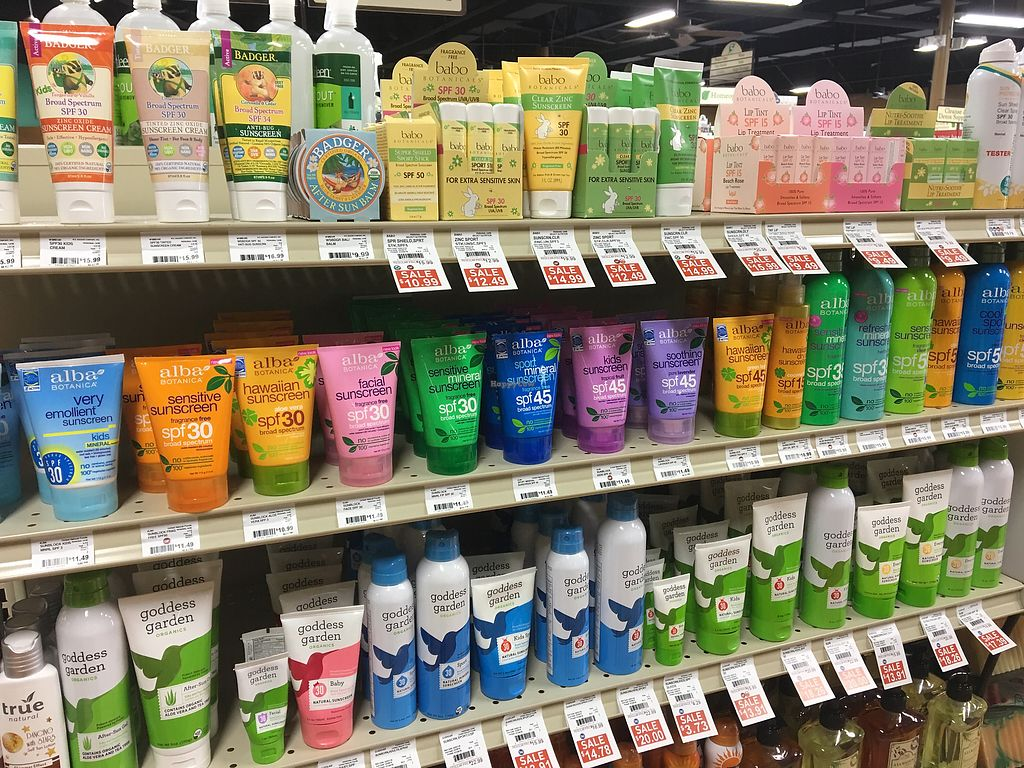 """Photo of Earth Origins Market  by <a href=""""/members/profile/LilMsVegan"""">LilMsVegan</a> <br/>Cruelty free Beauty products galore!  <br/> February 16, 2018  - <a href='/contact/abuse/image/37317/359989'>Report</a>"""