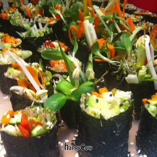 """Photo of Thrive Wellness Center  by <a href=""""/members/profile/FilizBakir"""">FilizBakir</a> <br/>yummy raw vegan nori rolls <br/> March 8, 2013  - <a href='/contact/abuse/image/37325/45155'>Report</a>"""