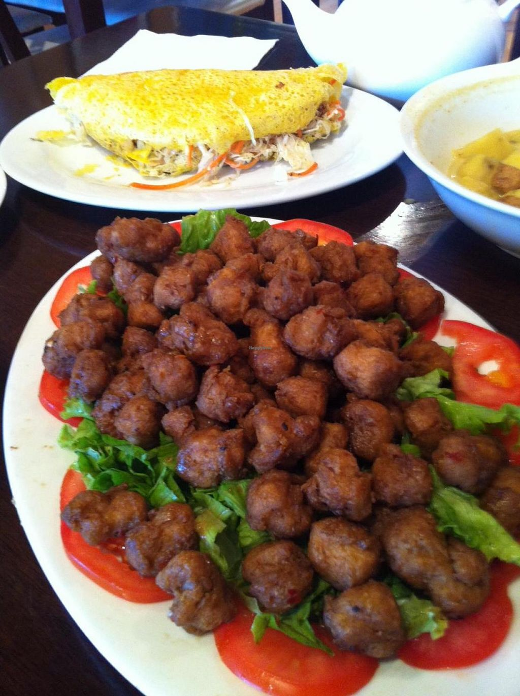 """Photo of Paradise Vegetarian Noodle House  by <a href=""""/members/profile/vegan%20frog"""">vegan frog</a> <br/>Garlic 'beef' bowls <br/> September 7, 2014  - <a href='/contact/abuse/image/3733/79333'>Report</a>"""