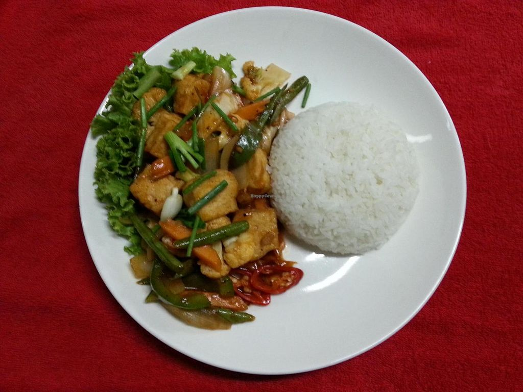 """Photo of Coriander  by <a href=""""/members/profile/RangaRanga"""">RangaRanga</a> <br/>The Best Stir Fry Vegetable with Tofu..  <br/> July 5, 2014  - <a href='/contact/abuse/image/37374/73248'>Report</a>"""