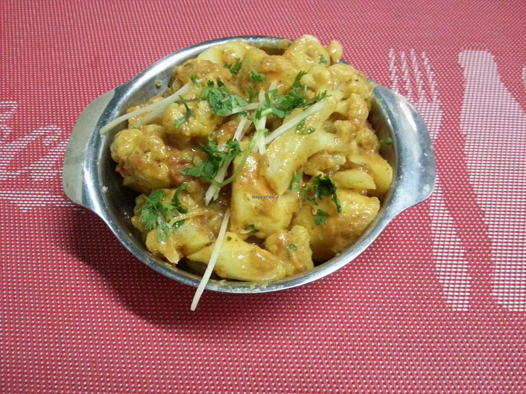 """Photo of Coriander  by <a href=""""/members/profile/RangaRanga"""">RangaRanga</a> <br/>Delicious Aloo Gobi..Authentic Indian Taste..  <br/> July 5, 2014  - <a href='/contact/abuse/image/37374/73249'>Report</a>"""