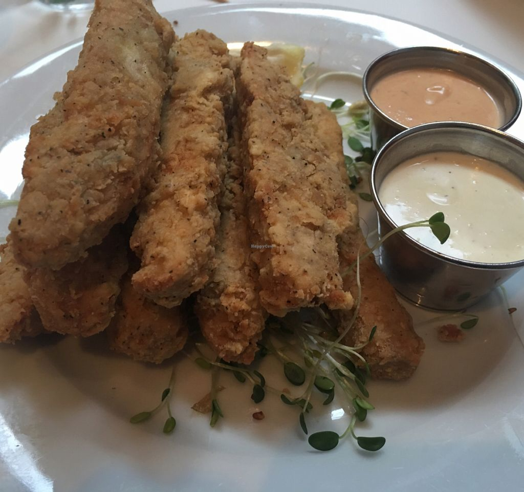 """Photo of Peacefood Cafe - Downtown  by <a href=""""/members/profile/gwild"""">gwild</a> <br/>un-chicken basket <br/> March 17, 2016  - <a href='/contact/abuse/image/37453/140321'>Report</a>"""
