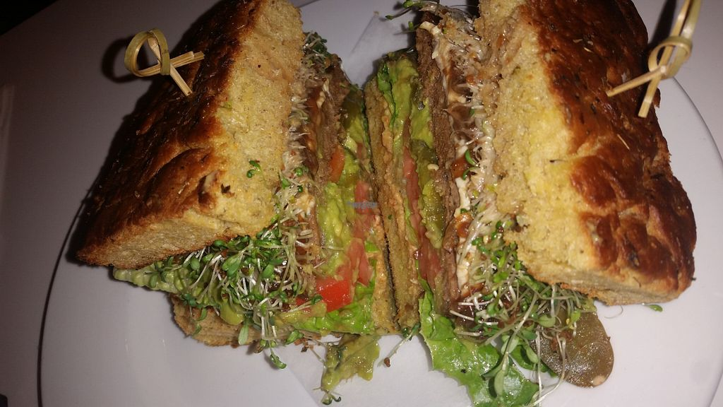 """Photo of Peacefood Cafe - Downtown  by <a href=""""/members/profile/void"""">void</a> <br/>Cheeseburger <br/> August 17, 2016  - <a href='/contact/abuse/image/37453/169380'>Report</a>"""