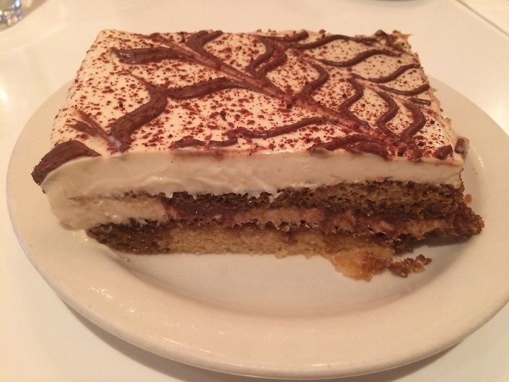 """Photo of Peacefood Cafe - Downtown  by <a href=""""/members/profile/MyGreenTongue"""">MyGreenTongue</a> <br/>vegan tiramisu  <br/> May 24, 2017  - <a href='/contact/abuse/image/37453/262169'>Report</a>"""