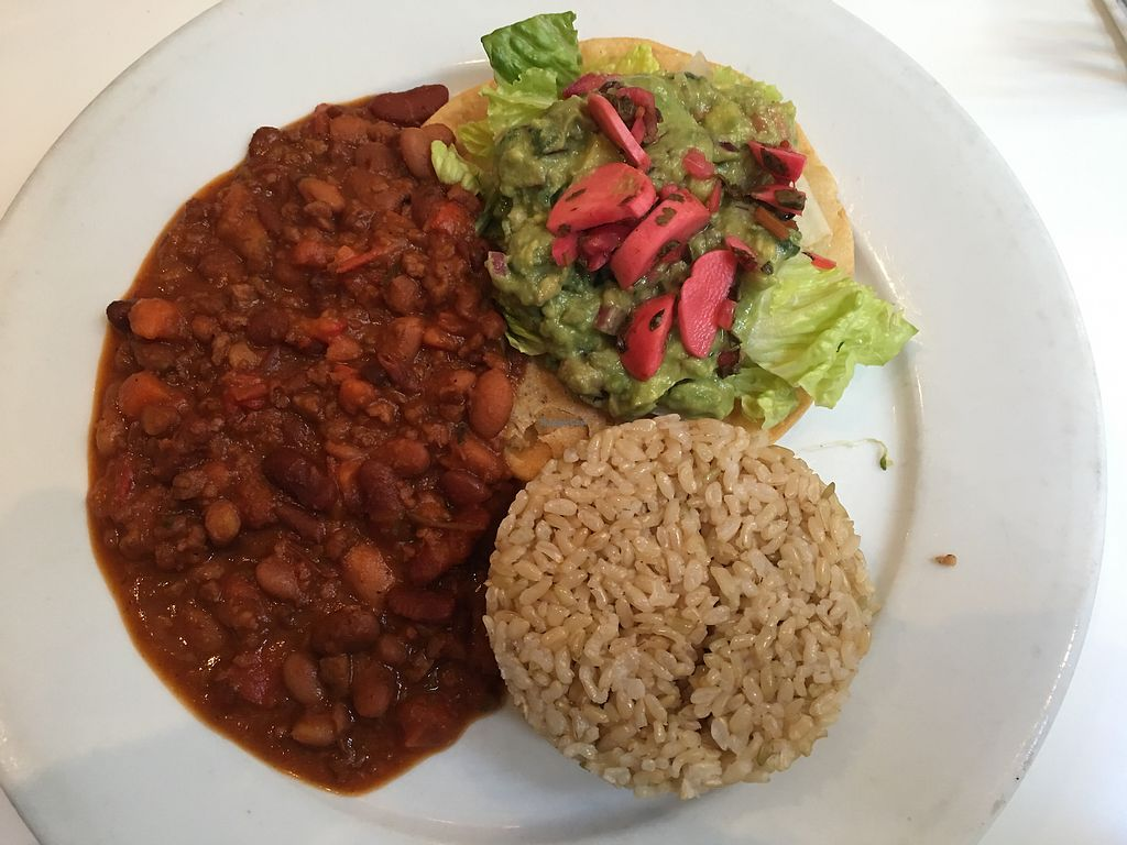 """Photo of Peacefood Cafe - Downtown  by <a href=""""/members/profile/gwild"""">gwild</a> <br/>Charlie Brown rice <br/> August 10, 2017  - <a href='/contact/abuse/image/37453/291335'>Report</a>"""