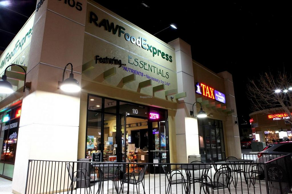 """Photo of CLOSED: Raw Food Express  by <a href=""""/members/profile/RAWChef%20Sharynne"""">RAWChef Sharynne</a> <br/>RAWFoodExpress 5105 S. Fort Apache Road #110 Fort Apache & Tropicana  M-F   11A-7P SAT   10A-3P SUN   CLOSED <br/> March 11, 2014  - <a href='/contact/abuse/image/37455/65660'>Report</a>"""