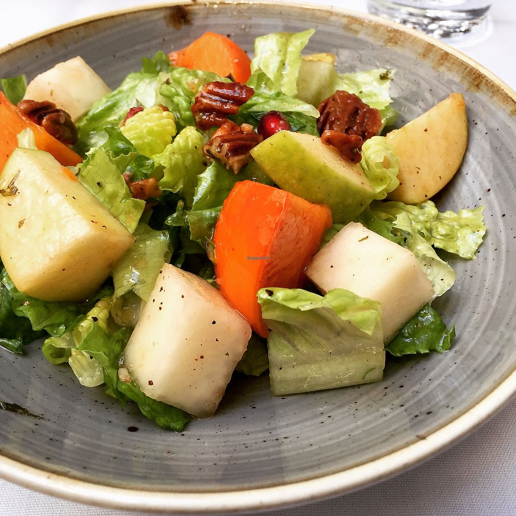 "Photo of Crossroads Kitchen  by <a href=""/members/profile/VeganCookieLover"">VeganCookieLover</a> <br/>Autumn chop salad  <br/> November 26, 2017  - <a href='/contact/abuse/image/37466/329476'>Report</a>"