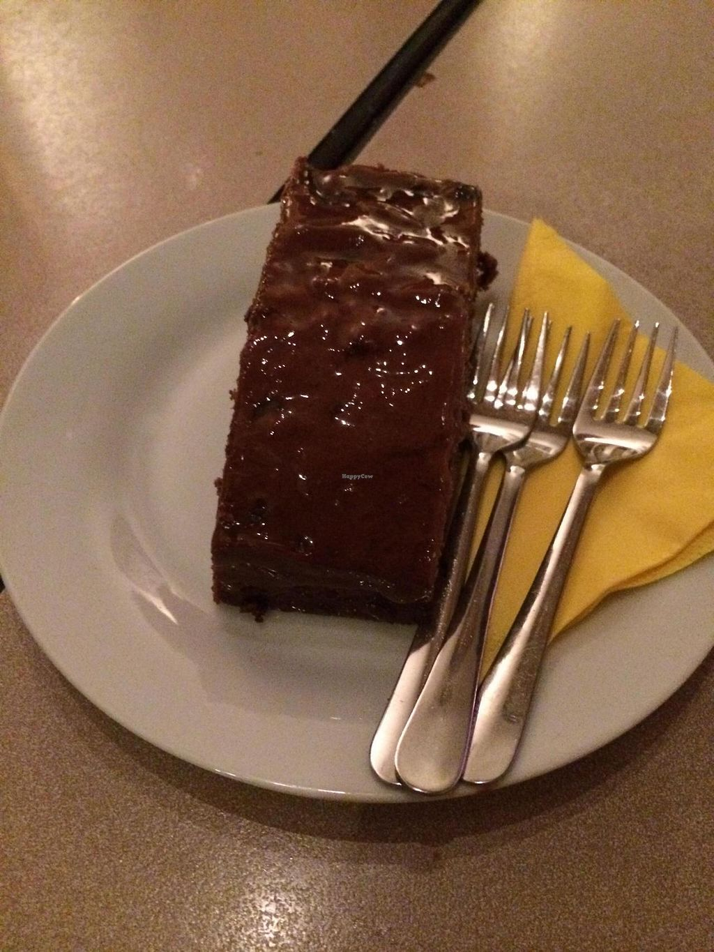 """Photo of Harvest Cafe Bistrot  by <a href=""""/members/profile/JazzyCow"""">JazzyCow</a> <br/>Chocolate and chili cake <br/> August 10, 2014  - <a href='/contact/abuse/image/37469/76461'>Report</a>"""